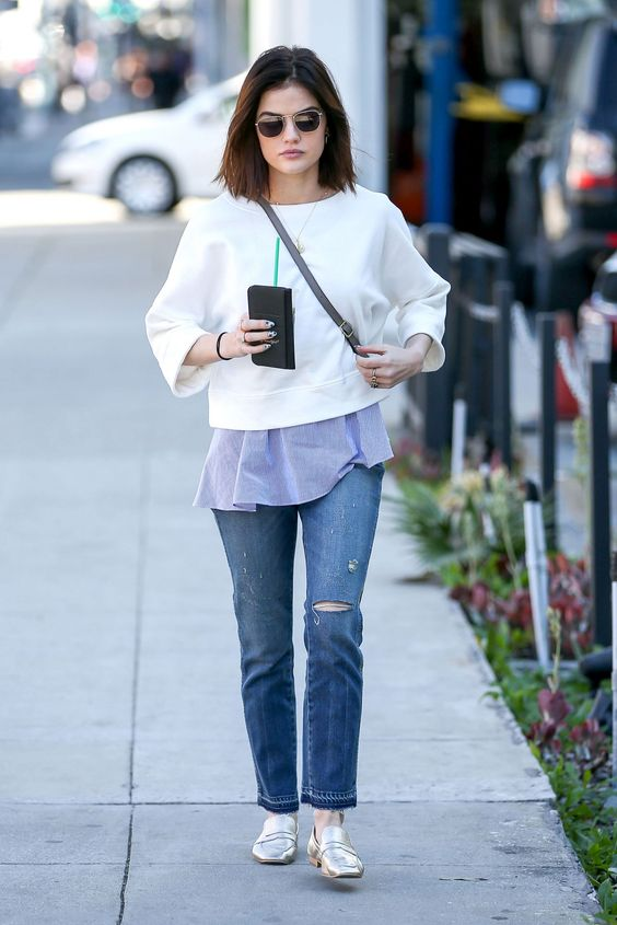 The Cutest Looks From Lucy Hale Street Style Celebrity Fashion Outfit Trends And Beauty Tips