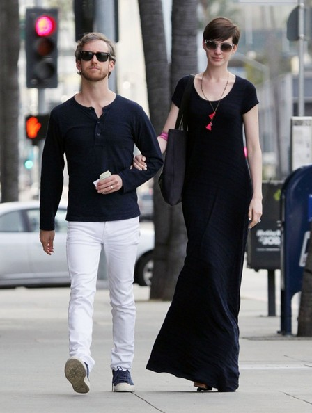 Anne Hathaway Maxi Dress