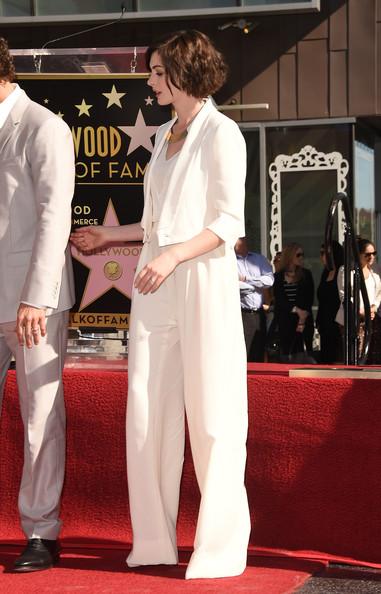 Anne Hathaway Pantsuit