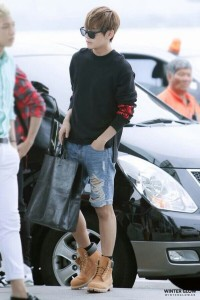 Boys Outfit Ideas from K-Pop Airport Fashion Style
