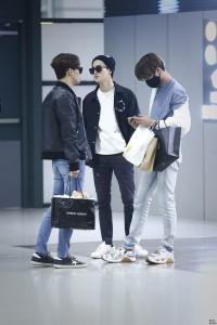 EXO Chen, Suho & Kai