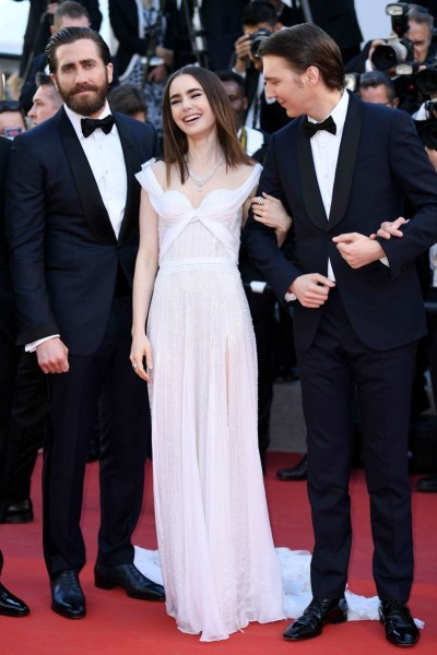Jake Gyllenhaal, Lily Collins & Paul Dano