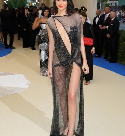 Kendall Jenner in La Perla Haute Couture