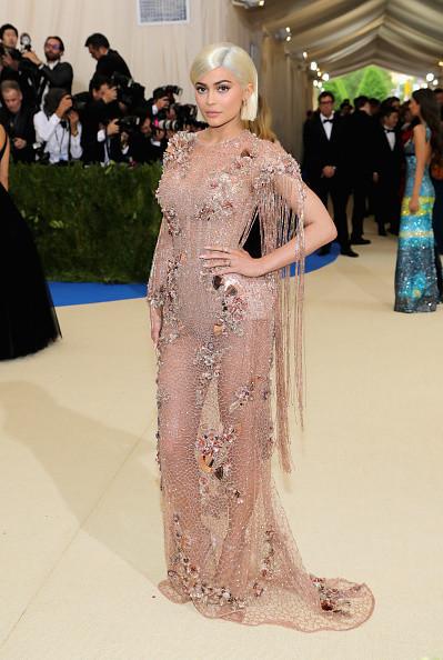 Kylie Jenner in Atelier Versace