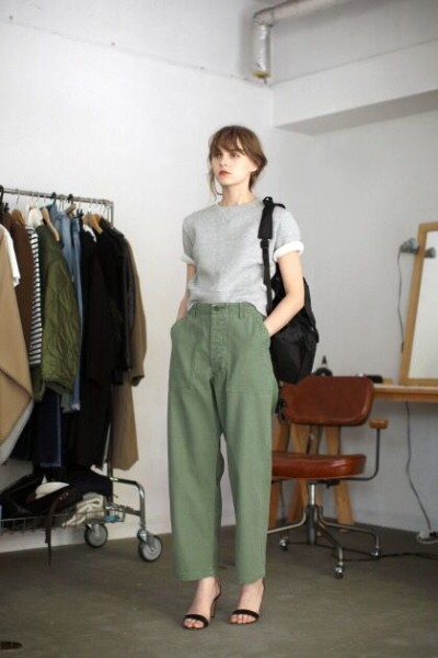 Wide Trouser via AVE Styles