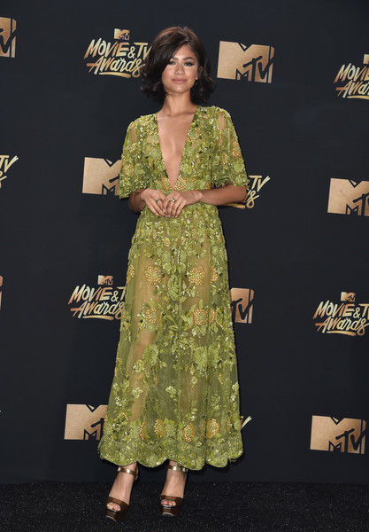 Zendaya Coleman in Zuhair Murad Couture | Best Dressed from Red Carpet MTV Movie and TV Awards 2017
