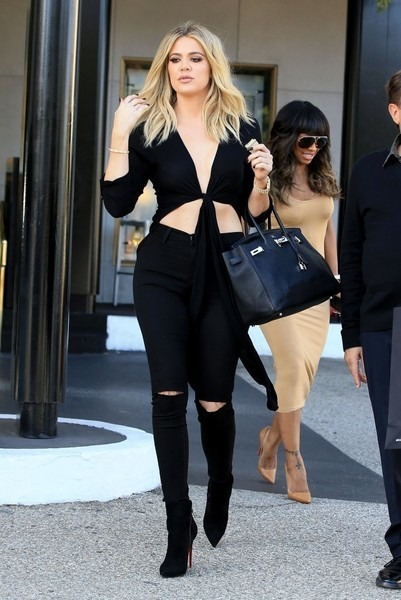 Best Khloe Kardashian Style Outfit Moments 187 Celebrity