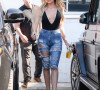 Khloe with Distressed Denim