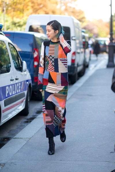 Bringin' Back Patchwork Pattern Outfit For Fall Fashion 2017
