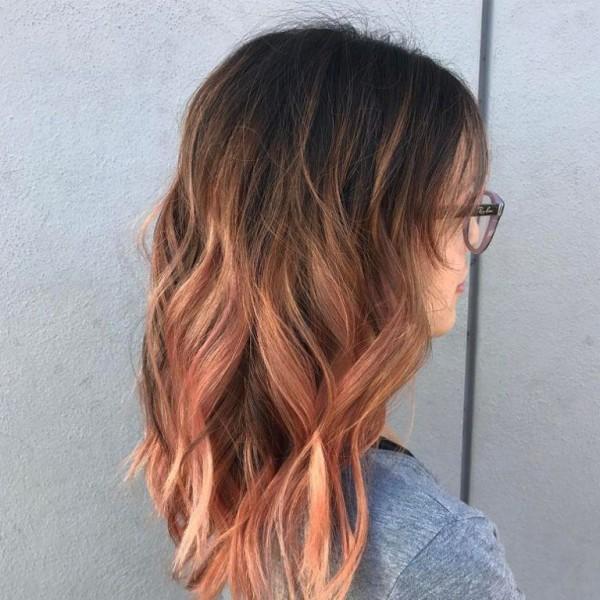 Blorange Hair Ombre