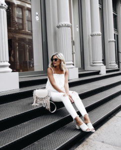 How To Wear Everything in White For Summer Outfit