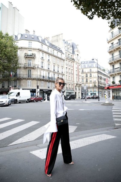 LONG SLEEVES & ZARA TRACK PANTS via Bloglovin