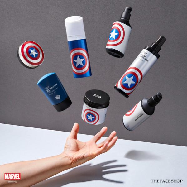 Skincare line for men.