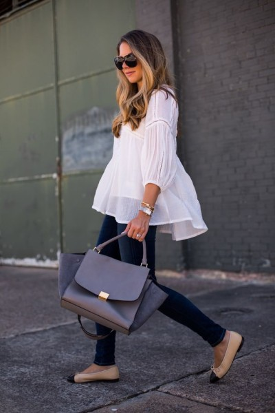 White Blouse via The Teacher Diva