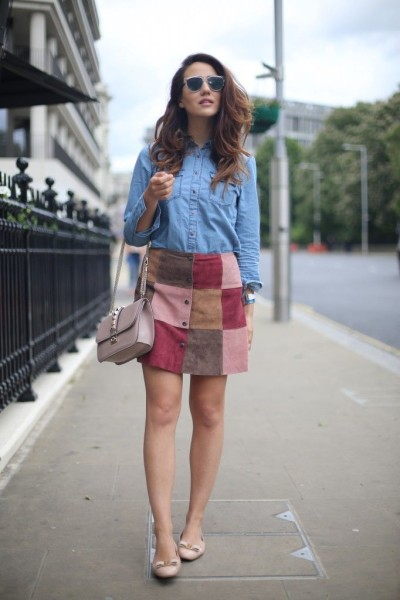 denim-top-and-patchwork-skirt