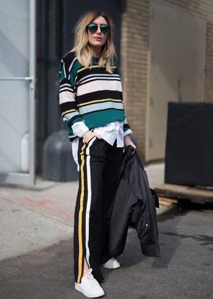 via NYFW Fall 2017 Street Style