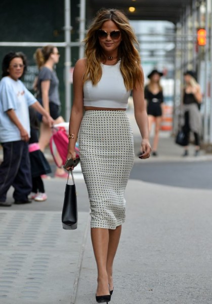 Best Fashion Moments From Chrissy Teigen Street Style