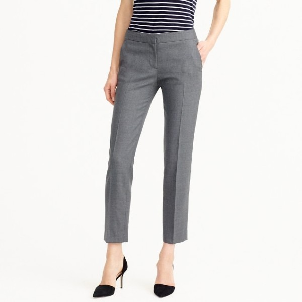 Paley pant in Italian stretch wool
