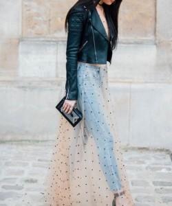 Paris Fashion Week Street Style 2017 via British Vogue