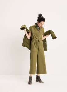 Wide-Leg Utility Jumpsuit Quilted Down Parka The Walker Chelsea Boot