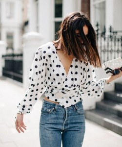 How to Style Polka Dots Outfit Nowadays