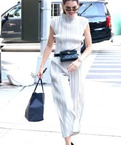Kendall Jenner wearing Chanel Belt Bag