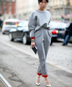 Metallic Heels via Milan Fashion Week