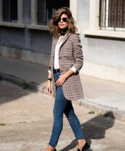 Checked Printed Blazers Makes It A Real Fashion Statement