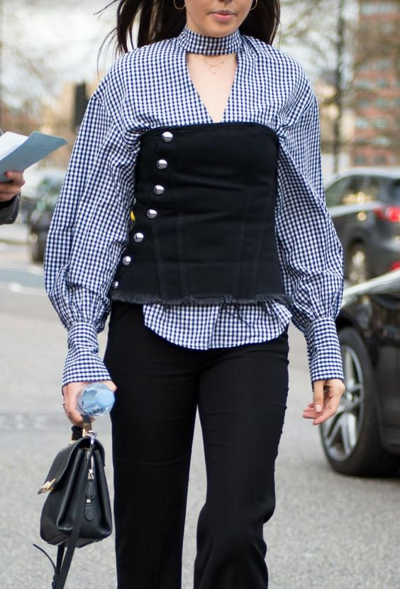 How To Wear The Corset Trend This Fall