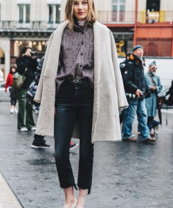 2017 Winter Trend: Outfit Ideas to Wear Shearling Jacket