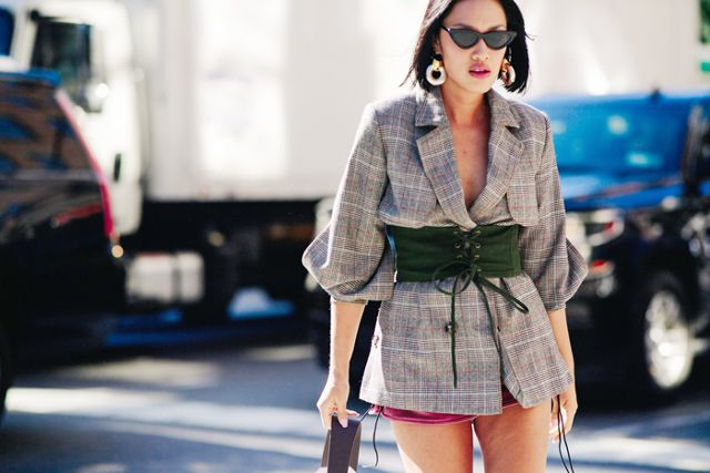 The Blazer Outfit Trend We Have Our Eyes On This Seasonvia Adam Katz Sinding