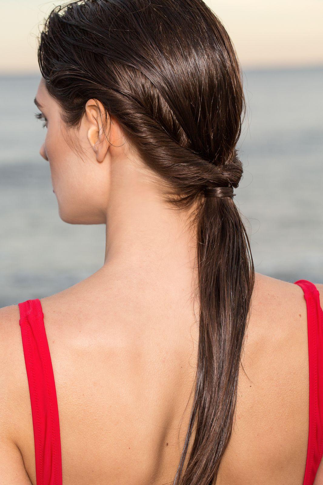 Beach Hair Style