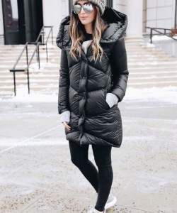 The Most Stylish Ways To Wear Puffer Jacket Outfit This Winter