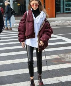 Gigi Hadid Puffer Jacket