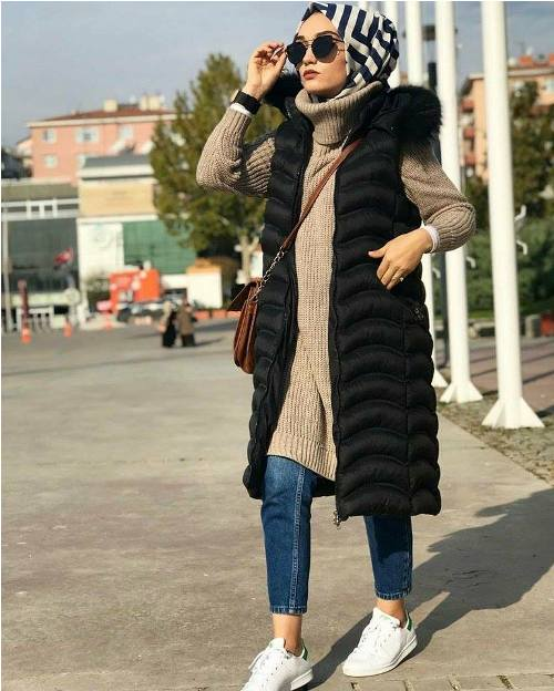 Sweater Winter Hijab