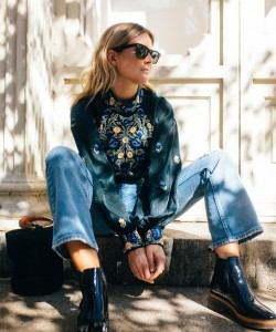 bohemian look via fashionmenow.co.uk