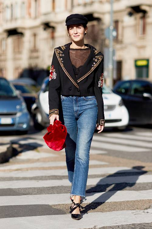 4720f73b974 These Trend Outfit With Jeans are Worth Copying in 2018 » Celebrity ...