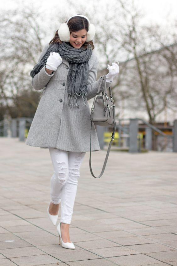 Earmuffs Outfit via Molly Clifton - Style Miss Molly