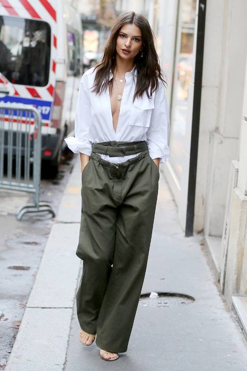 Celebrity Style Best Emily Ratajkowski Fashion Looks Celebrity Fashion Outfit Trends And
