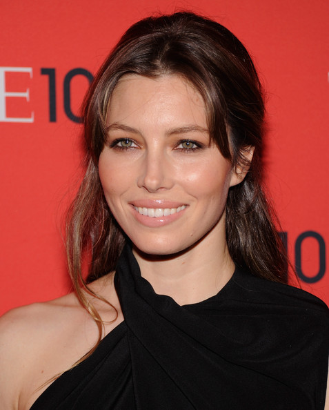 Jessica Biel Neutral Eyeshadow