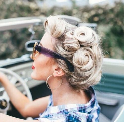 Retro and Vintage Hairstyles