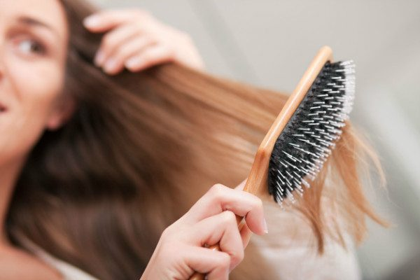 keep your hair-styling tools, especially hair brushes, neat and clean.