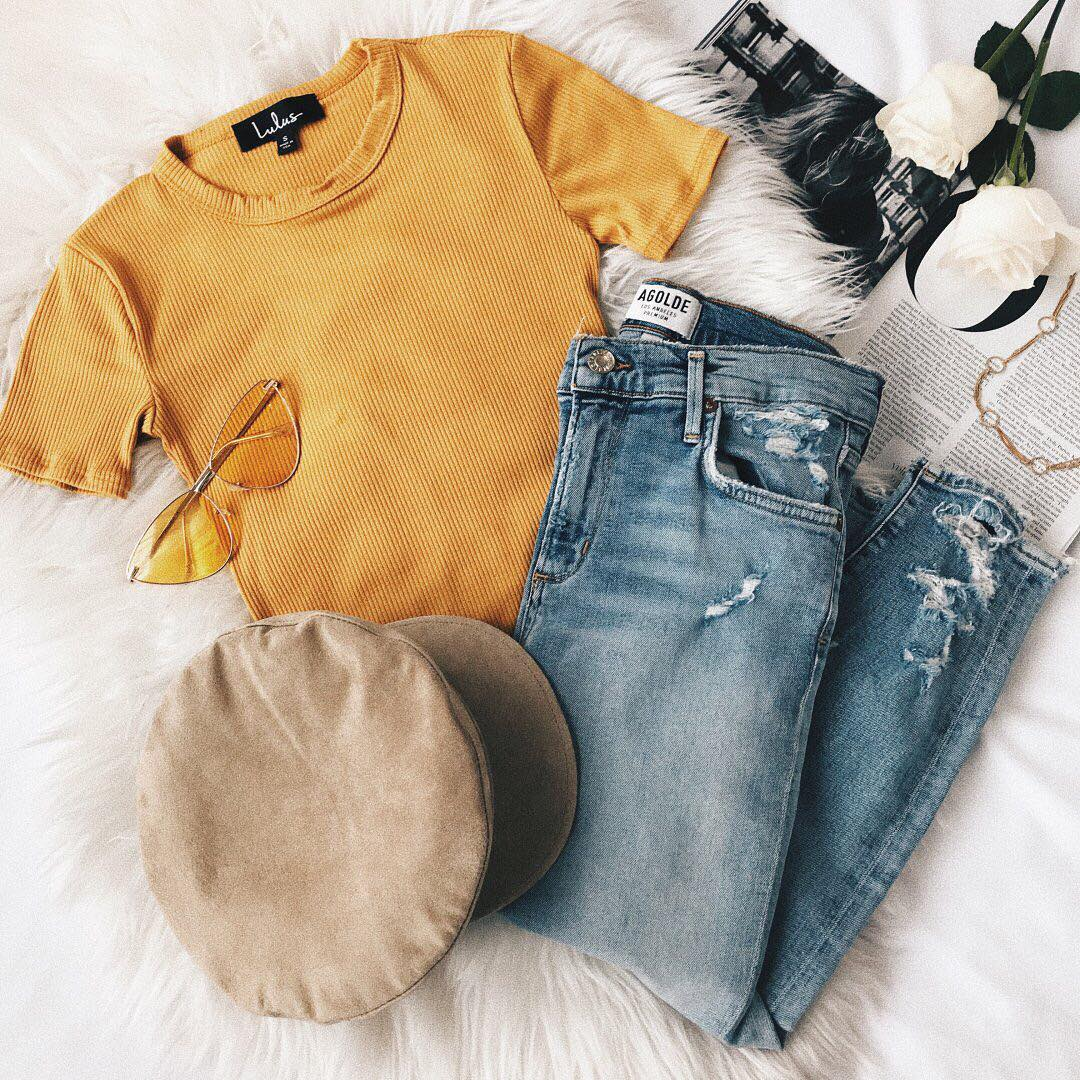 Spring Outfit Ideas From Lulus You Can Wear Right Now || Instagram @lulus