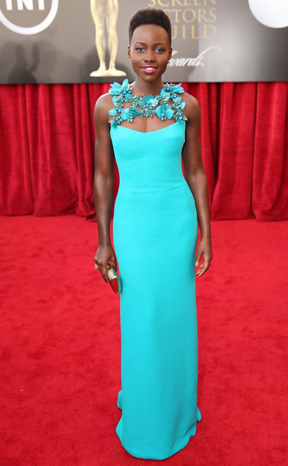 Lupita Nyong'o is absolutely breathtaking in Gucci