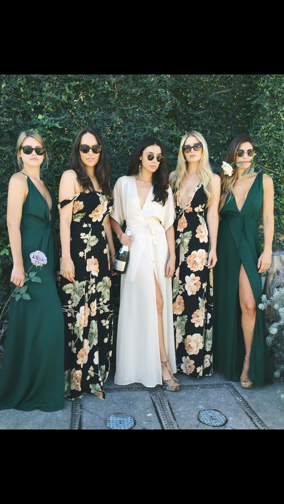 Spring Pretty Bridesmaid Dresses