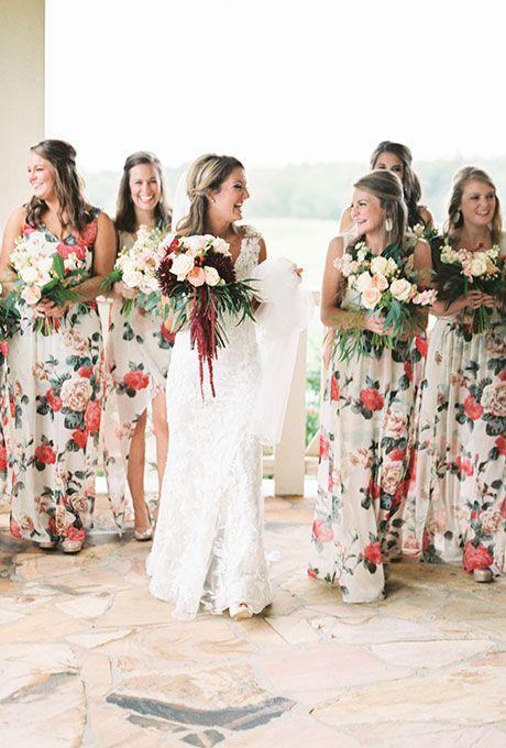 Spring wedding dress