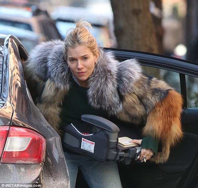 sienna miller fur | The Affordable Fur Coat Trends Are Celebrity Approved For Winter Outfit