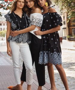 IMAAN, ANNA & ANDREEA POSE IN BUENOS AIRES FOR H&M'S SPRING 2018 CAMPAIGN