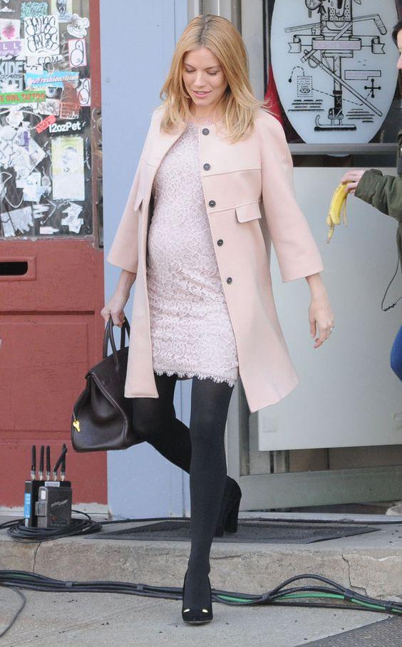 Celebrities Maternity Style