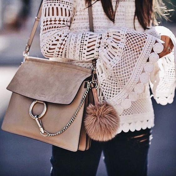 Chic Beige Handbag